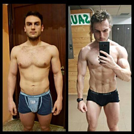 trasformazione bodybuilding