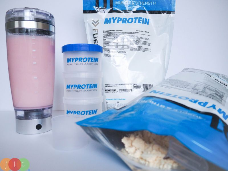 whey concentrate myprotein